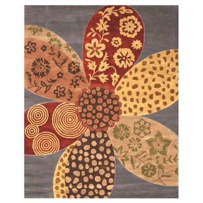 La Grande Hand-Tufted Area Rug Rug Size: Rectangle 5 x 8