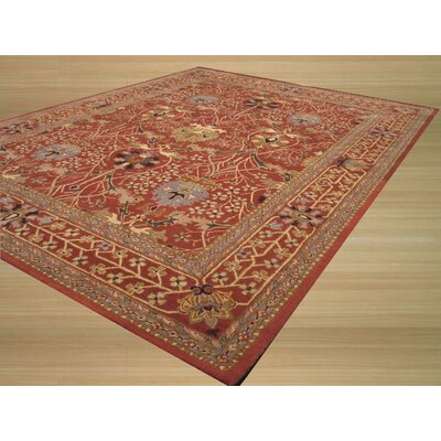 Lafayette Rust Area Rug Rug Size: Rectangle 89 x 119