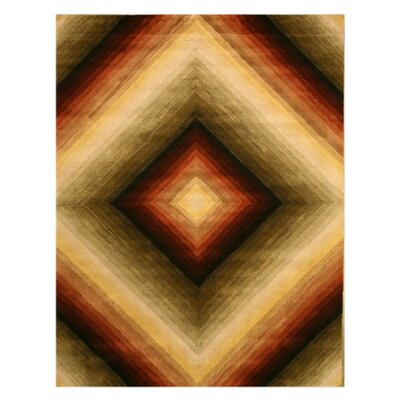 Mabel Hand-Woven Area Rug Rug Size: Rectangle 79 x 99