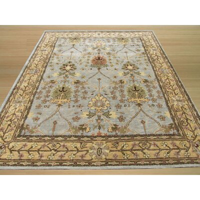 Marcola Hand-Tufted Blue Area Rug Rug Size: Rectangle 4 x 6