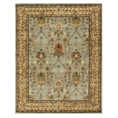 Marcola Hand-Tufted Blue Area Rug Rug Size: Rectangle 89 x 119