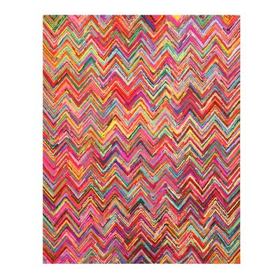 Hand-Tufted Area Rug Rug Size: 5' x 8'
