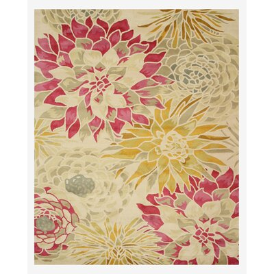 Hand-Tufted Ivory Area Rug