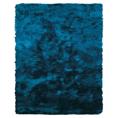 Mckee Hand-Tufted Blue Area Rug Rug Size: Rectangle 76 x 96