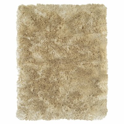 Mckee Hand-Tufted Beige Area Rug Rug Size: Rectangle 49 x 76