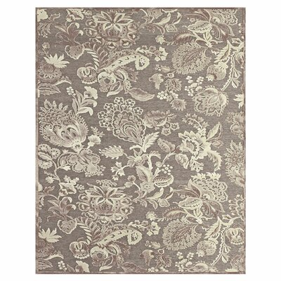 Gray / Brown Area Rug Rug Size: Rectangle 98 x 127