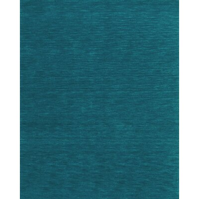Blue Area Rug Rug Size: Rectangle 8 x 11