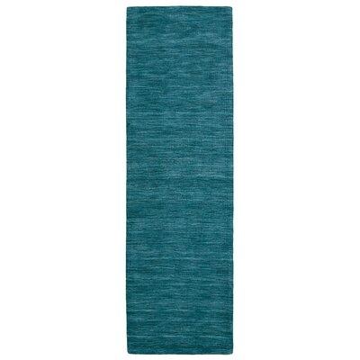 Blue Area Rug Rug Size: Runner 26 x 8