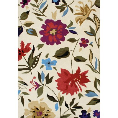 Noon Hand-Tufted Area Rug Rug Size: 8 x 10