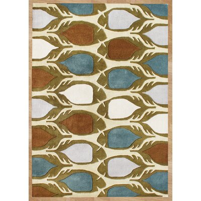 Newberg Hand-Tufted Area Rug Rug Size: 8 x 10