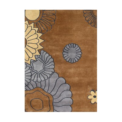 Owyhee Hand-Tufted Brown Area Rug Rug Size: 8 x 10