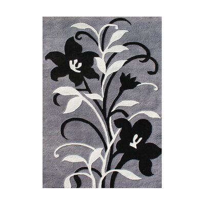 Pondosa Hand-Tufted Gray Area Rug