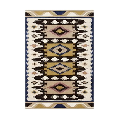 Orford Hand-Tufted Beige Area Rug Rug Size: 5 x 8