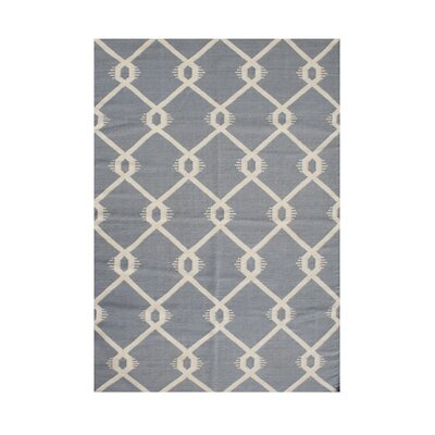 Portland Hand-Tufted Gray Area Rug Rug Size: 5 x 8
