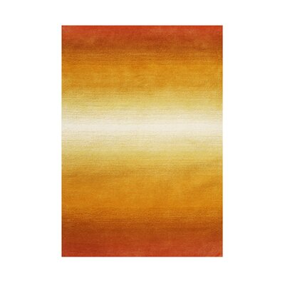 Raleigh Hand-Tufted Tan Area Rug Rug Size: 5 x 8