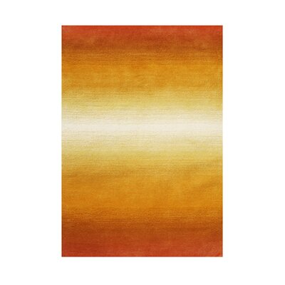 Raleigh Hand-Tufted Tan Area Rug Rug Size: Rectangle 8' x 10'