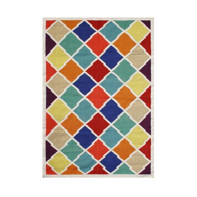 Riverton Hand-Tufted Area Rug Rug Size: 5 x 8