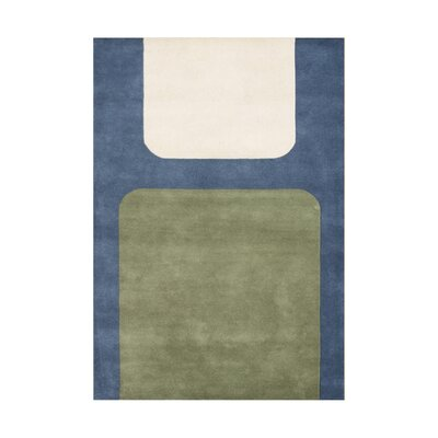 Riverwood Hand-Tufted Green/Blue Area Rug Rug Size: 5 x 8