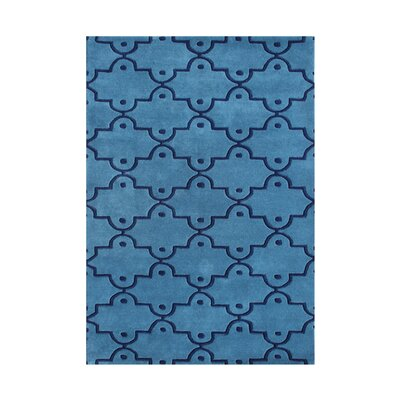Rainier Hand-Tufted Blue Area Rug