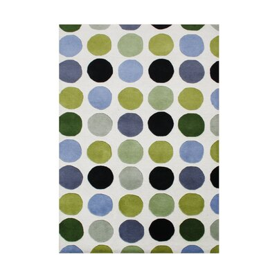 Sunriver Hand-Tufted Green Area Rug Rug Size: Rectangle 5 x 8