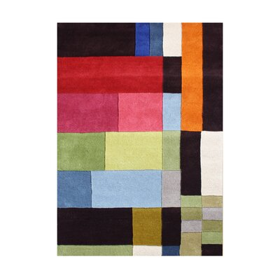 Suplee Hand-Tufted Area Rug Rug Size: Rectangle 5 x 8