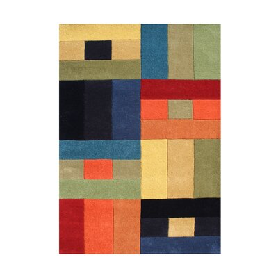 Susanville Hand-Tufted Area Rug Rug Size: Rectangle 5 x 8