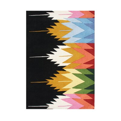 Whitney Hand-Tufted Area Rug Rug Size: Rectangle 5 x 8