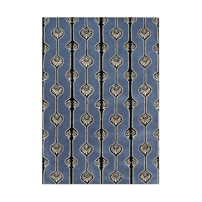 Willamette Hand-Tufted Blue Area Rug Rug Size: Rectangle 5 x 8