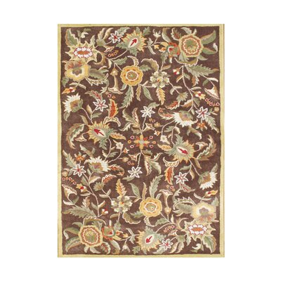 William Hand-Tufted Brown Sugar Area Rug Rug Size: 5 x 8
