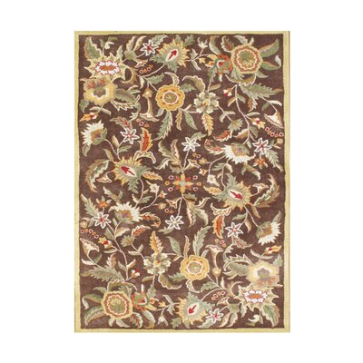 William Hand-Tufted Brown Sugar Area Rug Rug Size: 9 x 12
