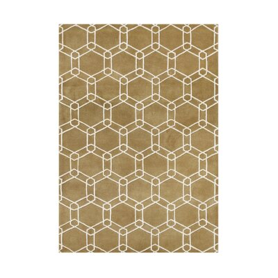 Winchester Bay Hand-Tufted Taupe Area Rug Rug Size: Rectangle 5 x 8