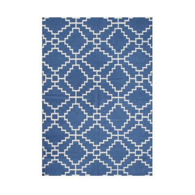 Westfir Hand-Tufted Blue Area Rug Rug Size: 5 x 8