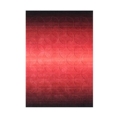 Zena Hand-Tufted Red Area Rug