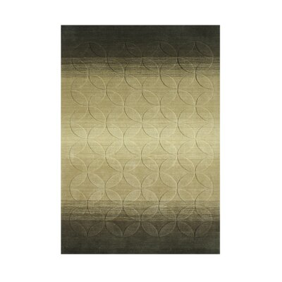 Ashton Hand-Tufted Green Area Rug