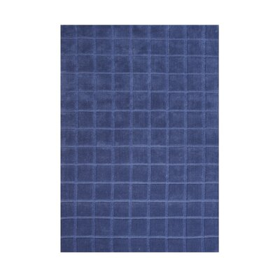 Athol Hand-Tufted Blue Area Rug