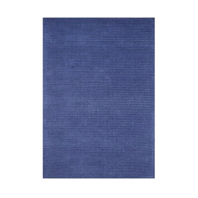 Ferry Hand-Tufted Navy Area Rug