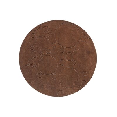 Cavendish Hand-Tufted Brown Area Rug