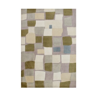 Clark Hand-Tufted Cuban Sand Area Rug 123