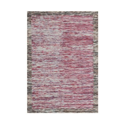 Downey Hand-Tufted Ash Rose Area Rug
