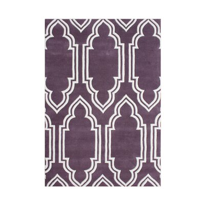 Elk Hand-Tufted Purple Area Rug