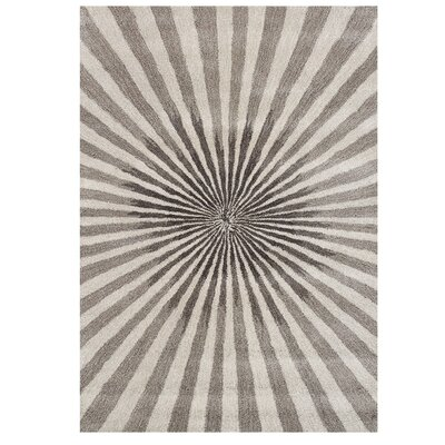 Aiyana Hand-Tufted Bleached Sand Area Rug Rug Size: 8 x 10