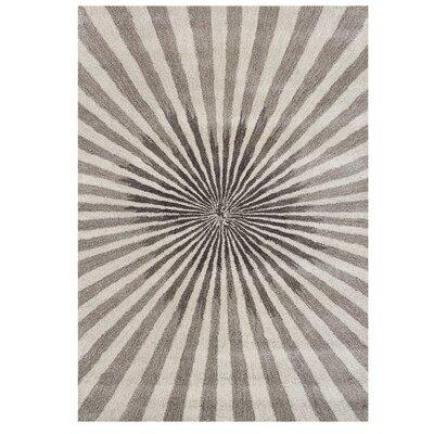 Aiyana Hand-Tufted Bleached Sand Area Rug Rug Size: 8 x 10