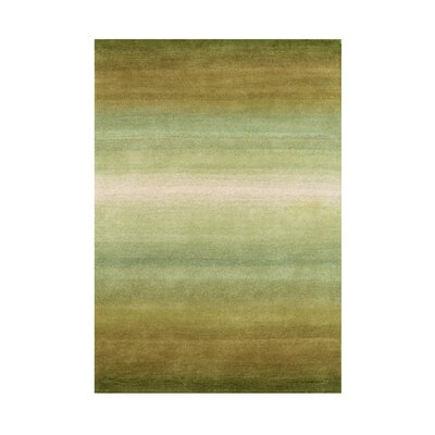 Hayden Hand-Tufted Oasis Green Area Rug Rug Size: 8 x 10