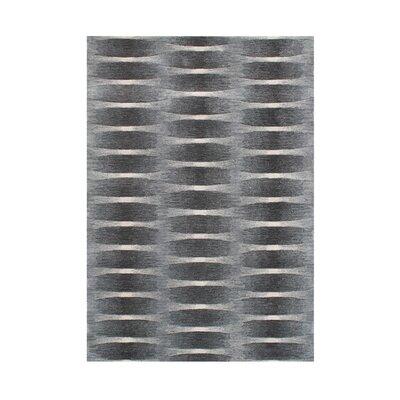Heyburn Hand-Tufted Grey Area Rug Rug Size: 8 x 10