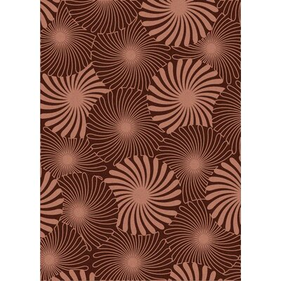 Laclede and-Tufted Burgundy Area Rug