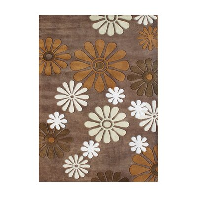 Plymouth Hand-Tufted Dark Chocolate Area Rug