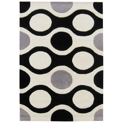 Notus Hand-Tufted Ivory/Black Area Rug