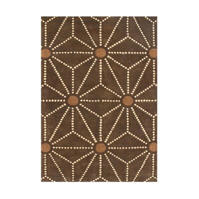 Orofino Hand-Tufted Toffee Area Rug