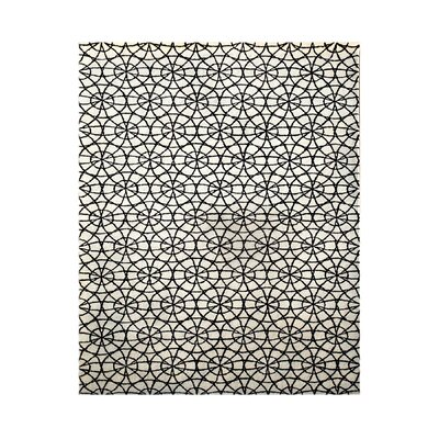 Paris Hand-Tufted Ivory/Black Area Rug