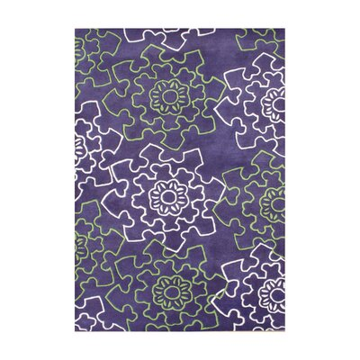 Rigby Hand-Tufted Purple Area Rug